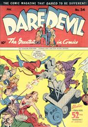 Daredevil Comics 034 by Lev Gleason Comics / Comics House Publications