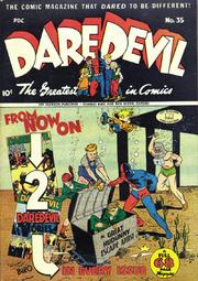 Daredevil Comics 035 by Lev Gleason Comics / Comics House Publications