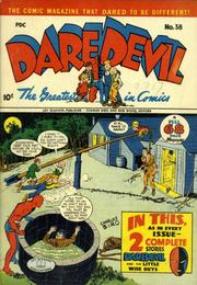Daredevil Comics 038 by Lev Gleason Comics / Comics House Publications