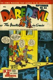Daredevil Comics 044 by Lev Gleason Comics / Comics House Publications