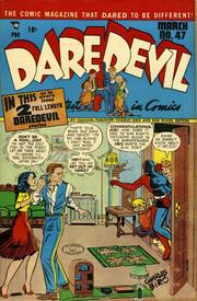 Daredevil Comics 047 by Lev Gleason Comics / Comics House Publications