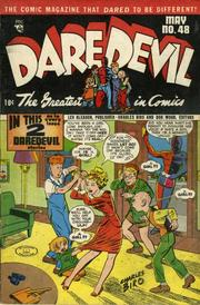 Daredevil Comics 048 by Lev Gleason Comics / Comics House Publications