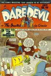 Daredevil Comics 049 by Lev Gleason Comics / Comics House Publications