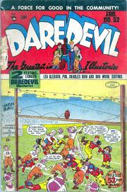 Daredevil Comics 052 by Lev Gleason Comics / Comics House Publications