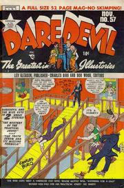 Daredevil Comics 057 by Lev Gleason Comics / Comics House Publications