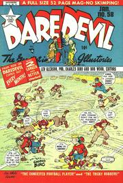 Daredevil Comics 058 by Lev Gleason Comics / Comics House Publications