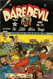 Daredevil Comics 074 by Lev Gleason Comics / Comics House Publications