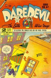 Daredevil Comics 087 by Lev Gleason Comics / Comics House Publications