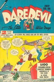 Daredevil Comics 088 by Lev Gleason Comics / Comics House Publications