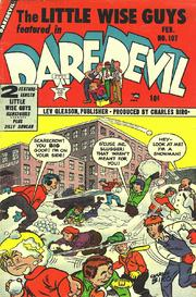 Daredevil Comics 107 by Lev Gleason Comics / Comics House Publications