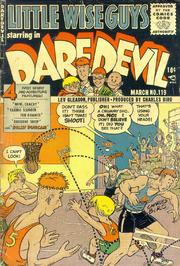 Daredevil Comics 119 by Lev Gleason Comics / Comics House Publications