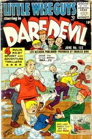 Daredevil Comics 122 by Lev Gleason Comics / Comics House Publications