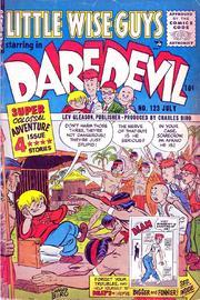 Daredevil Comics 123 by Lev Gleason Comics / Comics House Publications