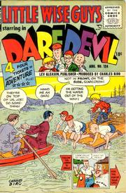 Daredevil Comics 124 by Lev Gleason Comics / Comics House Publications