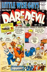 Daredevil Comics 125 by Lev Gleason Comics / Comics House Publications