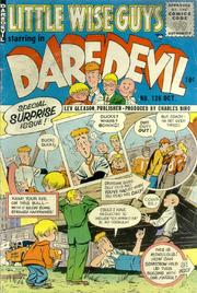 Daredevil Comics 126 by Lev Gleason Comics / Comics House Publications