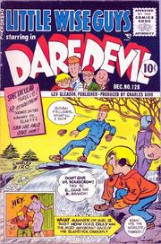 Daredevil Comics 128 by Lev Gleason Comics / Comics House Publications