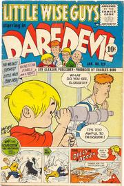 Daredevil Comics 129 by Lev Gleason Comics / Comics House Publications