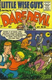 Daredevil Comics 134 by Lev Gleason Comics / Comics House Publications