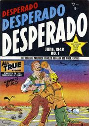 Desperado 01 by Lev Gleason Comics / Comics House Publications