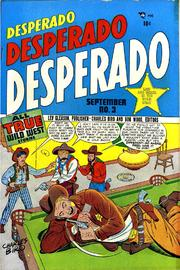 Desperado 03 by Lev Gleason Comics / Comics House Publications