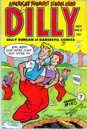 Dilly 002 by Lev Gleason Comics / Comics House Publications