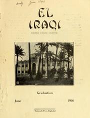 El Iraqi 1940 by Baghdad College