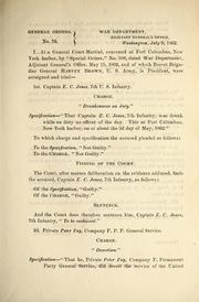 General Orders, Vol. No. 76 Volume Vol. no. 76 by United States. Adjutant-General's Office