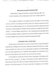 Resonances in Positronium Hydride Volume Report-Number: AIAA Paper 2001-1134; E-12810; NAS 1.15:210956; NASA/TM-2001-210956 by Dirienzi, Joseph