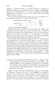 Summary of the Principal Results Obtaine... Volume Vol. 63 by Dendy, A.