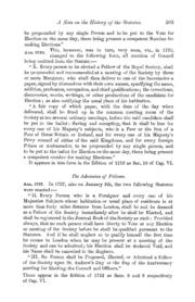 A Note on the History of the Statutes of... Volume Vol. 50 by Foster, M.