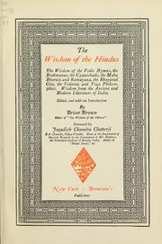 The Wisdom of the Hindus; the Wisdom of ... by Brown, B. H. (Brian H.)