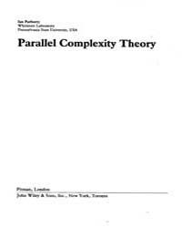 Parallel Complexity Theory by Parberry Ian