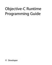Objective-c Runtime Programming Guide by Online Programming