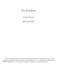 The R Inferno by Burns, Patrick