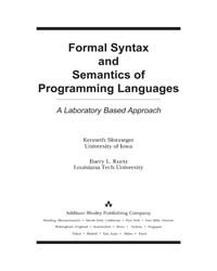 Formal Syntax and Semantics of Programmi... by Slonneger, Kenneth