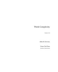 Think Complexity, Version 1.2.2 by Downey, Allen B.