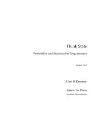 Think Stats, Probability and Statistics ... by Downey, Allen B.