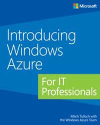 Introducing Windows Azure for it Profess... by Tulloch, Mitch