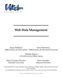 Web Data Management by Abiteboul, Serge