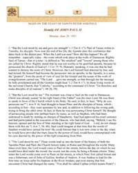 Mass on the Solemnity of the Holy Apostl... by Papal Encyclicals