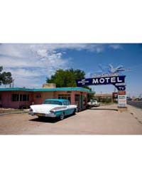 Blue Swallow Motel, Route 66, Tucumcari,... by Highsmith, Carol M.