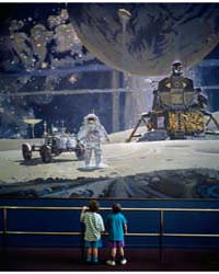 Children Stand in Wonder at a Mural of A... by Highsmith, Carol M.