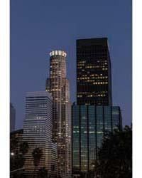 Dusk Shot of Central Los Angeles, Califo... by Highsmith, Carol M.