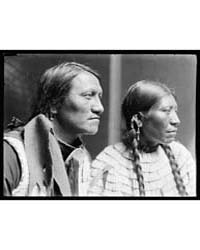Charging Thunder, Sioux & Wife, American... by Käsebier, Gertrude