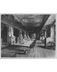 Interior of the Boston Athenaeum by