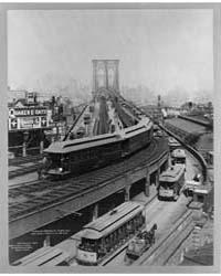 Curve at Brooklyn Terminal, New York & B... by Geo. P. Hall