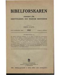 Bibelforskaren, Tidskrift För Skrifttolk... by Myrberg, Otto Ferdinand