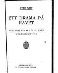 Ett Drama På Havet by Witt, Otto