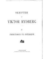 Fribytaren På Östersjön by Rydberg, Viktor